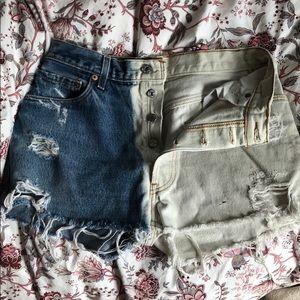 Levis Jean shorts